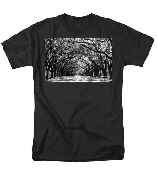 Sunny Southern Day - Black And White Men's T-Shirt  (Regular Fit)