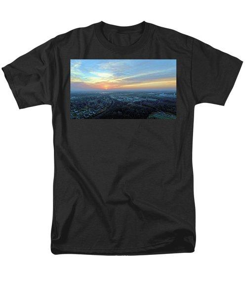 Sunrise At 400 Agl Men's T-Shirt  (Regular Fit) by Dave Luebbert