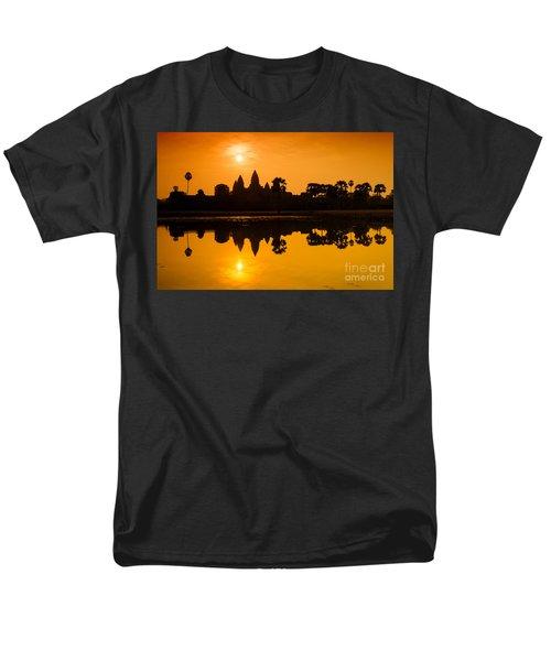 Sunrise At Angkor Wat Men's T-Shirt  (Regular Fit) by Yew Kwang