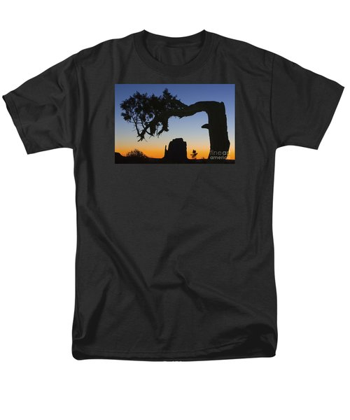 Sunrise At East Mitten Men's T-Shirt  (Regular Fit) by Jerry Fornarotto