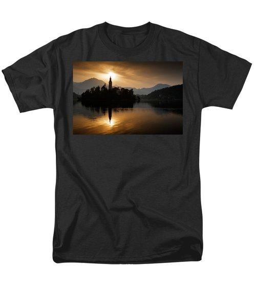 Sunrise At Lake Bled Men's T-Shirt  (Regular Fit) by Ian Middleton