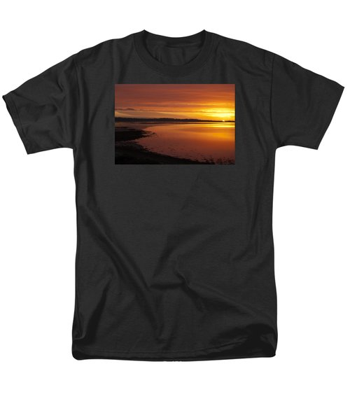 Men's T-Shirt  (Regular Fit) featuring the photograph Sunrise Dornoch Firth Scotland by Sally Ross