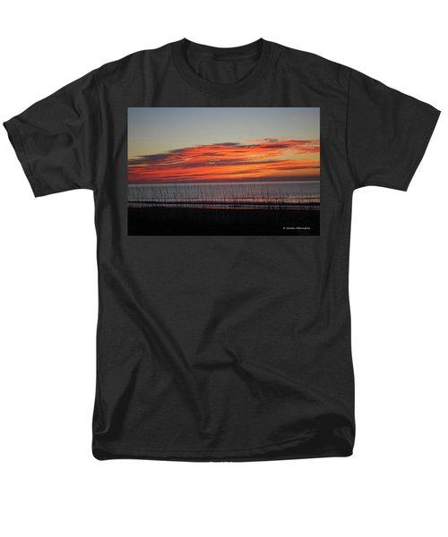 Sunrise Men's T-Shirt  (Regular Fit) by Gordon Mooneyhan