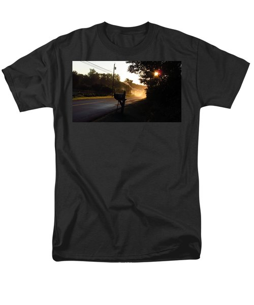 Sunrise On A Country Road Men's T-Shirt  (Regular Fit)