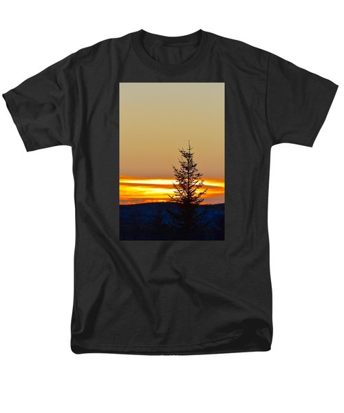 Men's T-Shirt  (Regular Fit) featuring the photograph Sunrise On A Sunday Morning by Dacia Doroff