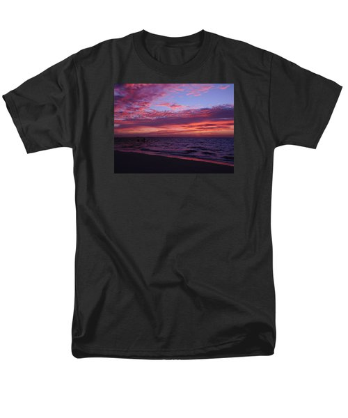 Sunrise On Sanibel Island Men's T-Shirt  (Regular Fit) by Melinda Saminski