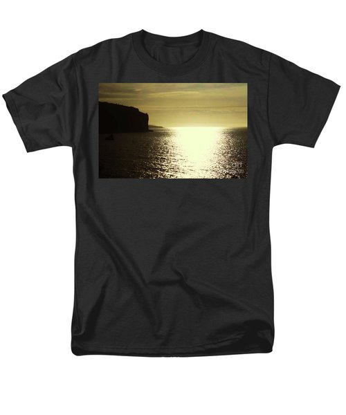 Men's T-Shirt  (Regular Fit) featuring the photograph Sunrise On The Almalfi Coast by Polly Peacock