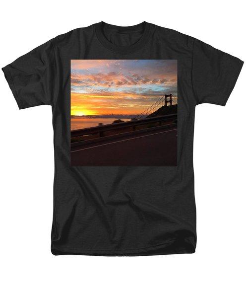 Sunrise Over San Francisco Men's T-Shirt  (Regular Fit) by Eugene Evon