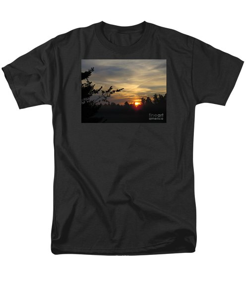 Sunrise Over The Trees Men's T-Shirt  (Regular Fit) by Craig Walters