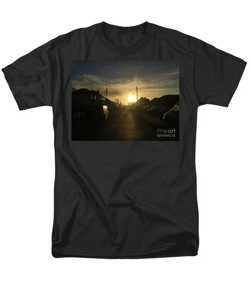 Sunrise Street Men's T-Shirt  (Regular Fit) by Andrew Middleton