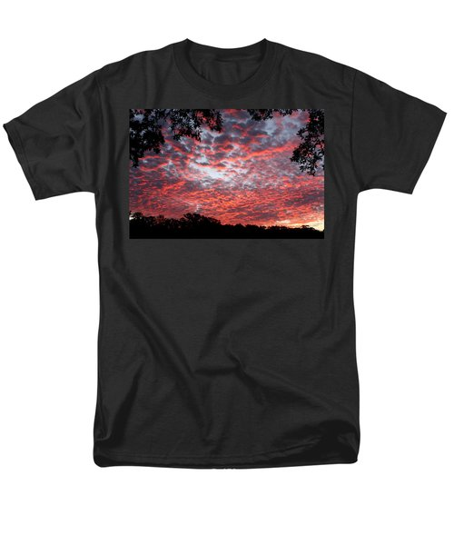 Sunrise Through The Trees Men's T-Shirt  (Regular Fit) by Sheila Brown