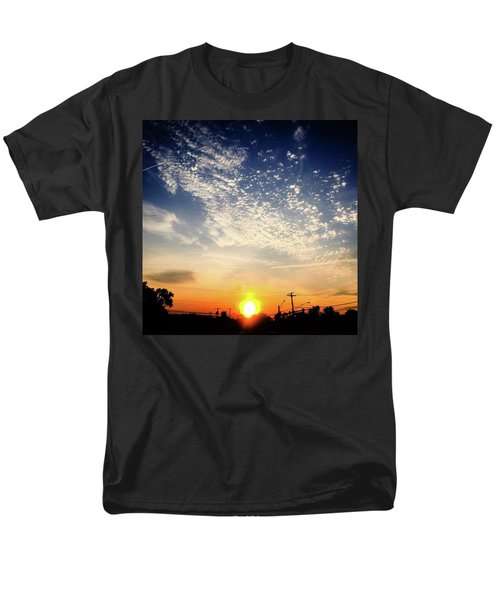 Men's T-Shirt  (Regular Fit) featuring the photograph Sunset 25 May 16 by Toni Martsoukos