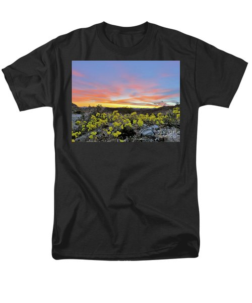 Sunset And Primrose Men's T-Shirt  (Regular Fit) by Michele Penner