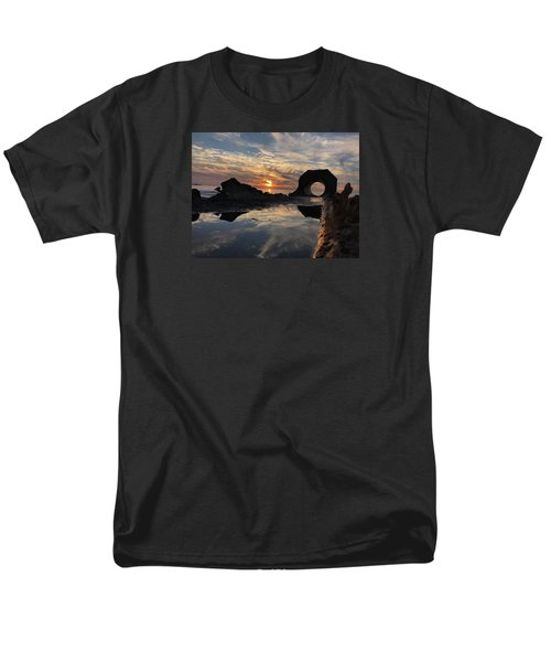 Sunset At The Beach Men's T-Shirt  (Regular Fit) by Alex King