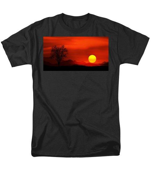 Sunset Men's T-Shirt  (Regular Fit) by Bess Hamiti