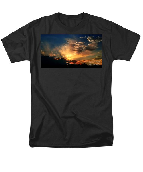 Men's T-Shirt  (Regular Fit) featuring the photograph Sunset Of The End Of June by Zedi