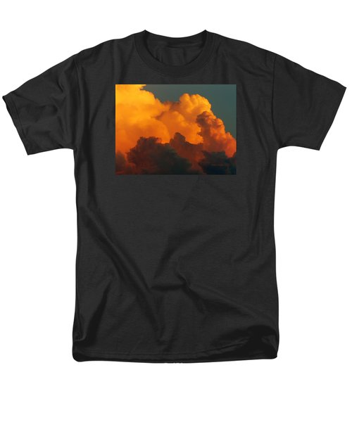 Men's T-Shirt  (Regular Fit) featuring the digital art Sunset Clouds by Jana Russon