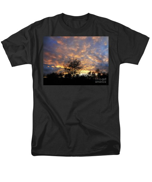 Sunset Glow Men's T-Shirt  (Regular Fit) by Gem S Visionary