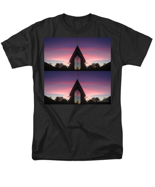 Sunset Hues And Views Men's T-Shirt  (Regular Fit) by Nora Boghossian