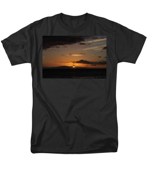 Men's T-Shirt  (Regular Fit) featuring the photograph Sunset In Maui 2 by Michael Albright
