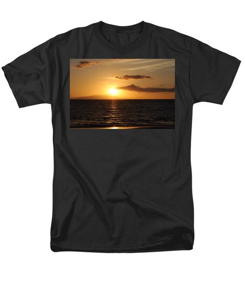 Men's T-Shirt  (Regular Fit) featuring the photograph Sunset In Maui by Michael Albright