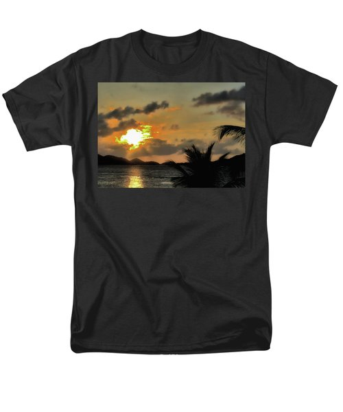 Sunset In Paradise Men's T-Shirt  (Regular Fit) by Jim Hill