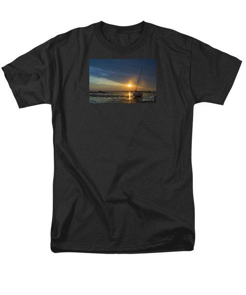 Sunset On Cape Cod Men's T-Shirt  (Regular Fit) by Diane Diederich