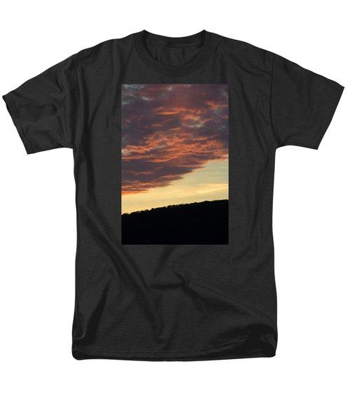 Sunset On Hunton Lane #8 Men's T-Shirt  (Regular Fit) by Carlee Ojeda