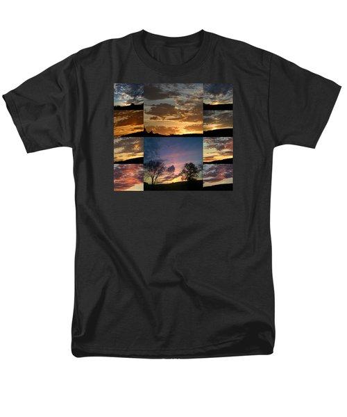 Sunset On Hunton Lane Men's T-Shirt  (Regular Fit) by Carlee Ojeda