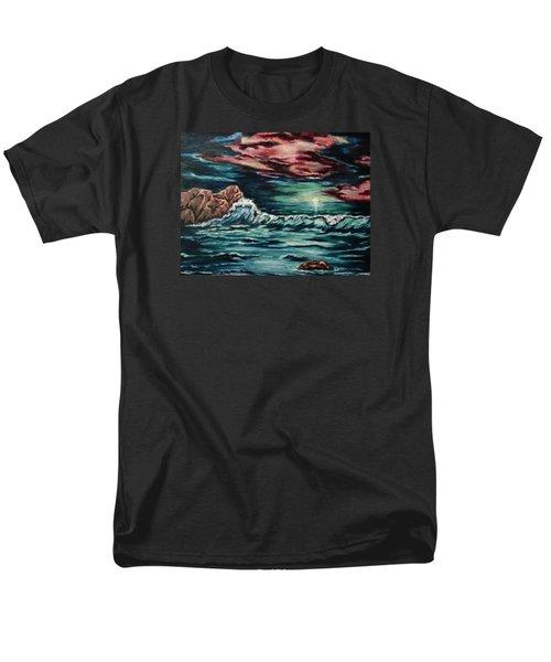 Sunset On The Horizon Men's T-Shirt  (Regular Fit) by Cheryl Pettigrew
