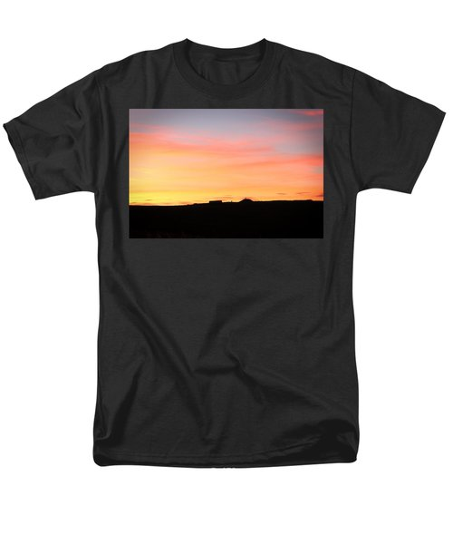 Men's T-Shirt  (Regular Fit) featuring the photograph Sunset Over Cairnpapple by RKAB Works