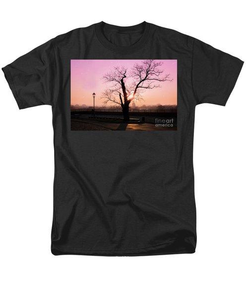 Men's T-Shirt  (Regular Fit) featuring the photograph Sunset Over Krakow by Juli Scalzi