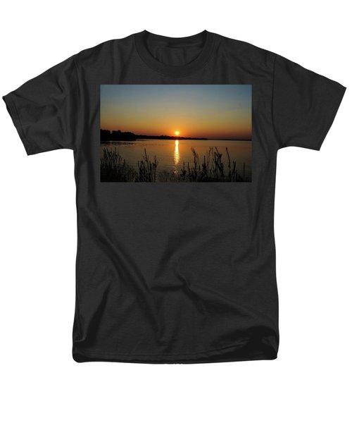 Sunset Over Lake Norman Men's T-Shirt  (Regular Fit)