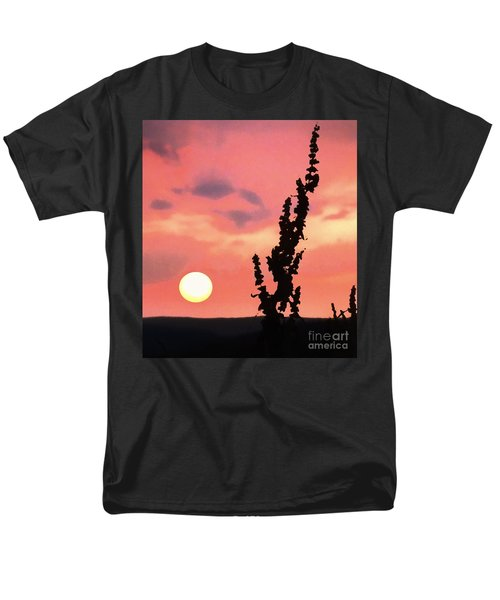 Sunset Men's T-Shirt  (Regular Fit) by Raymond Earley
