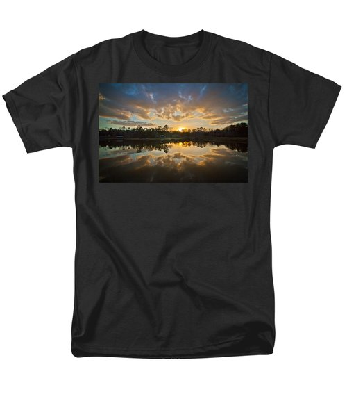 Sunset Reflections Men's T-Shirt  (Regular Fit) by Linda Unger