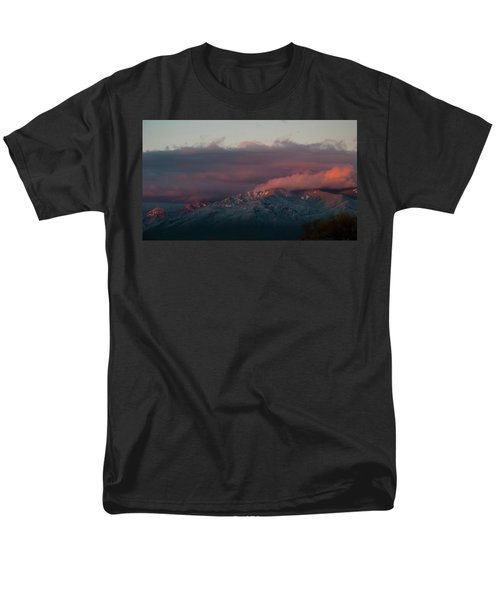 Sunset Storm On The Sangre De Cristos Men's T-Shirt  (Regular Fit) by Jason Coward