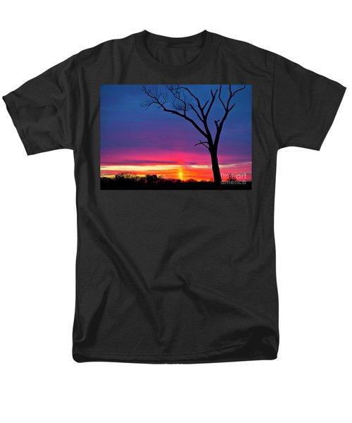 Sunset Sundog  Men's T-Shirt  (Regular Fit) by Ricky L Jones