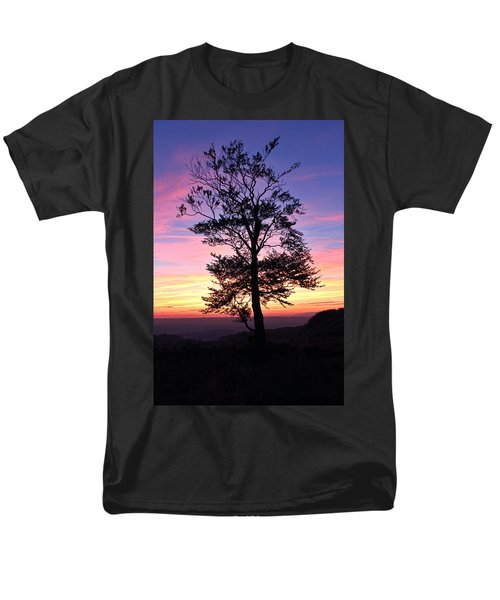 Men's T-Shirt  (Regular Fit) featuring the photograph Sunset Tree by RKAB Works