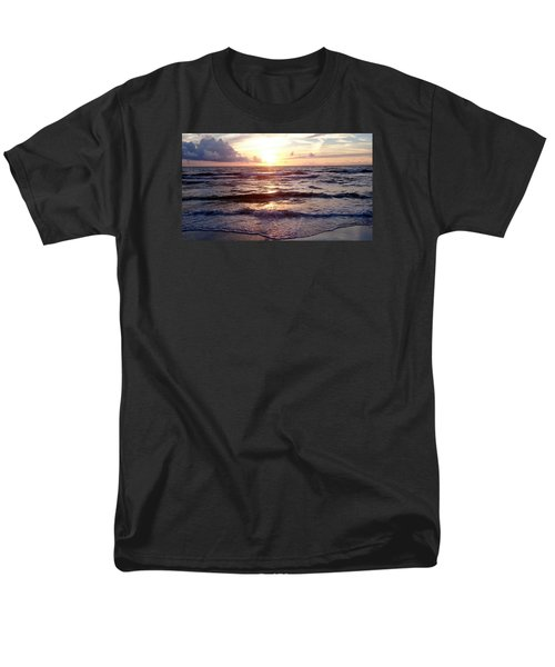 Sunset Waves 1 Men's T-Shirt  (Regular Fit) by Vicky Tarcau