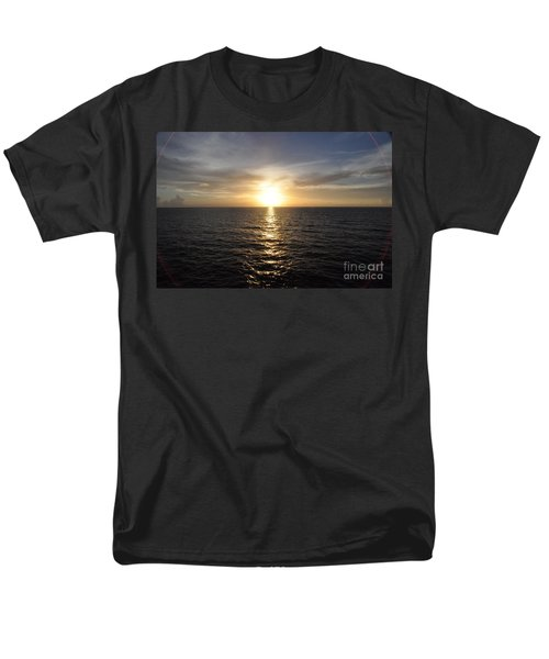 Men's T-Shirt  (Regular Fit) featuring the photograph Sunset With Halo by John Black