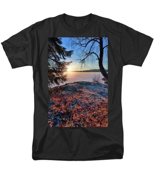 Sunsets Creates Magic Men's T-Shirt  (Regular Fit) by Rose-Marie Karlsen