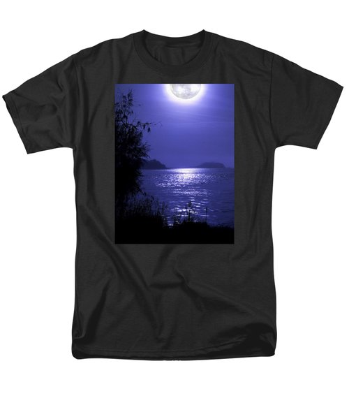 Men's T-Shirt  (Regular Fit) featuring the photograph Super Moon by Laura Ragland