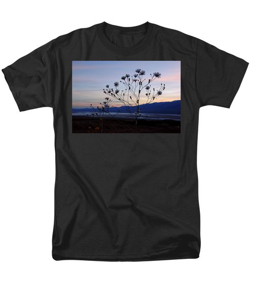 Superbloom Sunset In Death Valley 102 Men's T-Shirt  (Regular Fit) by Daniel Woodrum