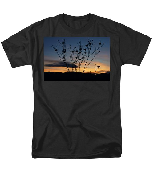Superbloom Sunset In Death Valley 103 Men's T-Shirt  (Regular Fit) by Daniel Woodrum