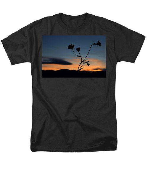 Superbloom Sunset In Death Valley 105 Men's T-Shirt  (Regular Fit) by Daniel Woodrum