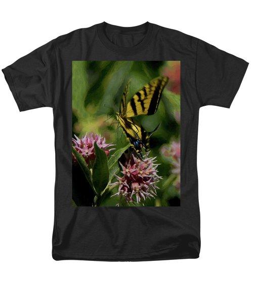Swallowtail Liftoff Dp Men's T-Shirt  (Regular Fit) by Ernie Echols