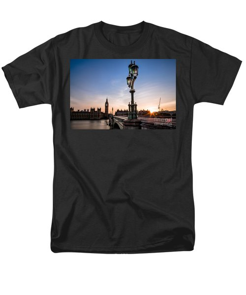 Swapping Lights Men's T-Shirt  (Regular Fit) by Giuseppe Torre