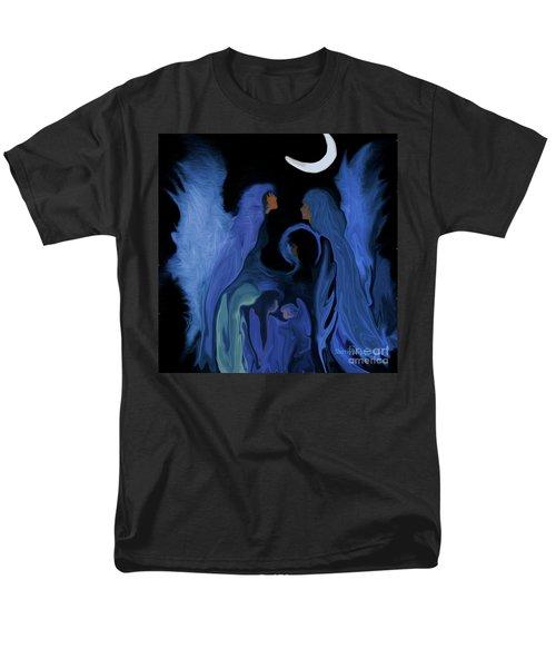 Sweet Angelfamily Men's T-Shirt  (Regular Fit) by Sherri's Of Palm Springs
