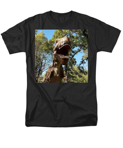 T Rex Men's T-Shirt  (Regular Fit)