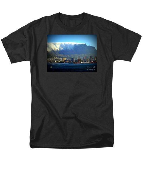 Table Rock With Cloud Men's T-Shirt  (Regular Fit) by John Potts
